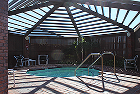 COVERED SPA