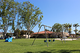 GRASSY PLAY AREAS
